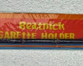 """Vintage 1960s """"Beatnick Cigarette Holder"""" New Old Stock Rare Politically Incorrect Tobacciana Unopened Package Great Display Piece"""