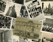 "50 pc - Vintage Photos ""Travel Collection"" Snapshot Old Photo Antique Black & White Photography Paper Ephemera Lot Collectibles - 101415"