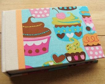 Cupcake Birthday Photo Album 4x6 or 5x7