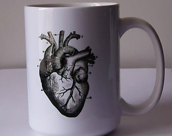 Love My (Anatomical) Heart 15 ounce Coffee Mug