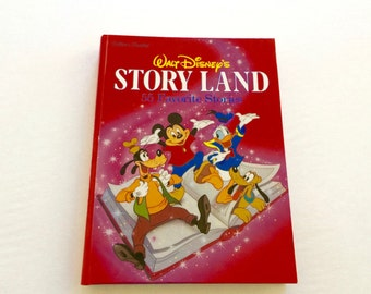 Walt Disneys Story Lane 55 Favorite Stories  Golden Book / Vintage Disney