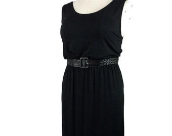 Plus Size Maxi dress / Boho Chic / Black maxi dress / Plus size clothing / Trendy plus size  xl 1x 2x 3x
