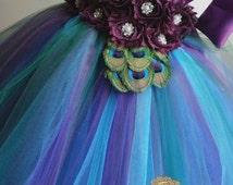 peacock flower girl dress, flower girl dress, flower girl dress tulle, flower girl dress vintage, flower girl dress eggplant, tutu dress