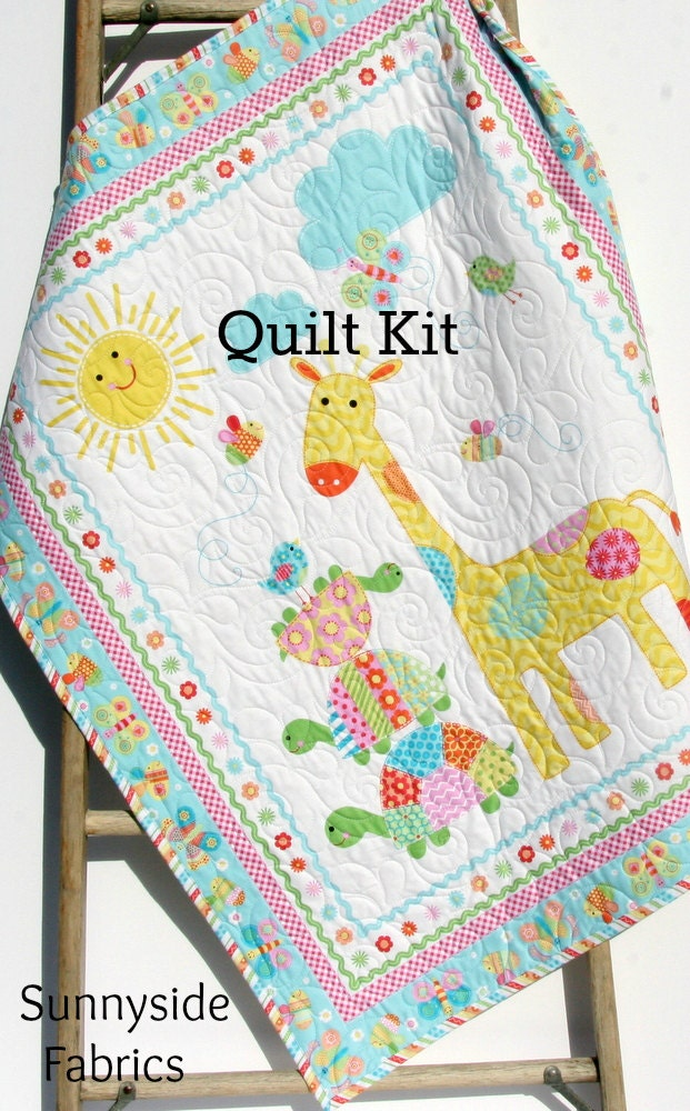 Quilt Kit Bundle of Love Panel Quick Easy Fun Beginner