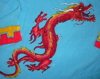 Dragon Batik Tunic