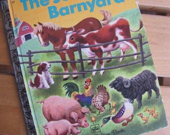 A Little Golden Book - The Jolly Barnyard