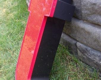 T - Reclaimed Metal letter - 22 inch - XL