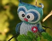 Crochet pattern - Sweet owl by VendulkaM - amigurumi/ crochet toy, digital pattern, DIY, pdf
