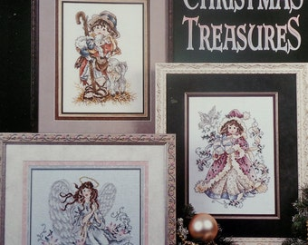 Stoney Creek Collection | CHRISTMAS TREASURES | (Multiple Designs)  | Counted Cross Stitch Pattern | Chart Booklet