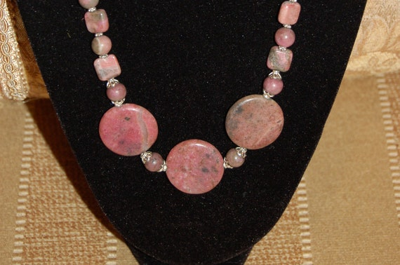 Blushing Beauty Rhodonite Necklace