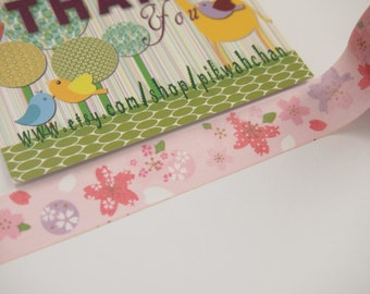 Cherry Blossoms Washi Tape (5M)