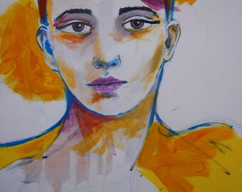 Portrait - study #8