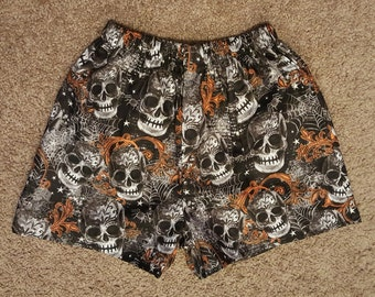 Boy's/Men's Halloween Boxer Shorts