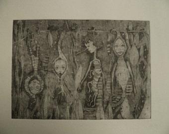 original etching