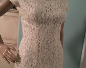 Cupcake Lace Wiggle Dress