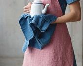 Linen Towel, Blue, Homeware, Kitchen Tea Towel, Kitchen Linen
