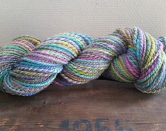 Candy  Handspun Merino yarn 113 gram / 4 oz by Star Fiber Studio