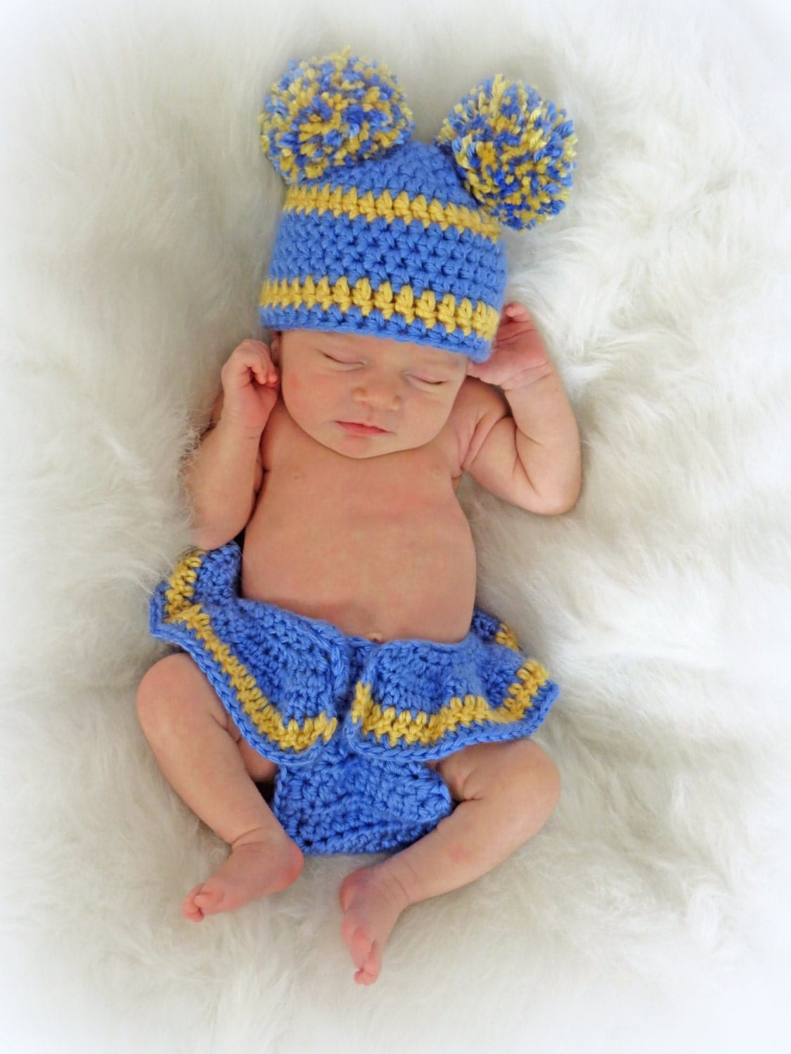 Free crochet football hat and diaper cover pattern manet for crochet newborn photo prop crochet football pattern diaper free crochet football hat bankloansurffo Choice Image