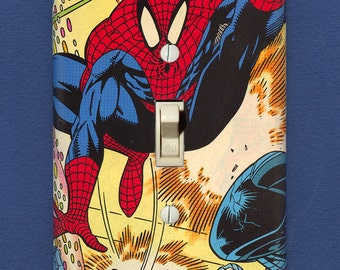 Spider-Man - Superhero Light Switch Plate - One-of-a-Kind