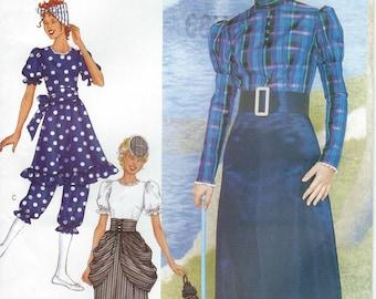 UNCUT Butterick 3187 Edwardian 1910 Style Misses Costume Pattern Sizes 14-16-18