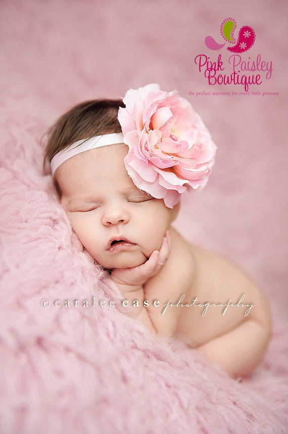 Baby headbands Baby girl headband Newborn Photography prop