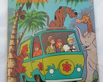Vintage Scooby-Doo Coloring Book Great Condition 1977