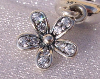 PANDORA Dazzling Daisy Charm Dangle FREE SHIPPING