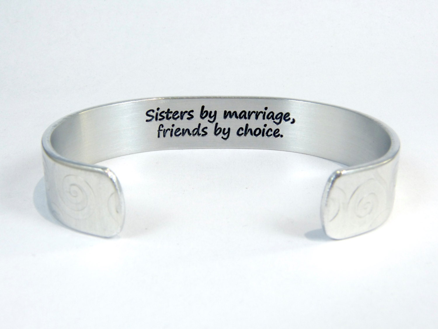 Gift For Sister In Law Wedding: Sister In Law Gift Sisters By Marriage Friends By Choice