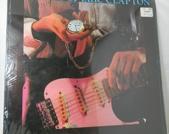 Vintage Vinyl LP Record Time Pieces The Best Of Eric Clapton *Still Factory Sealed* 1982 RX-1-3099 Collectible Rock & Roll DanPickedMinerals