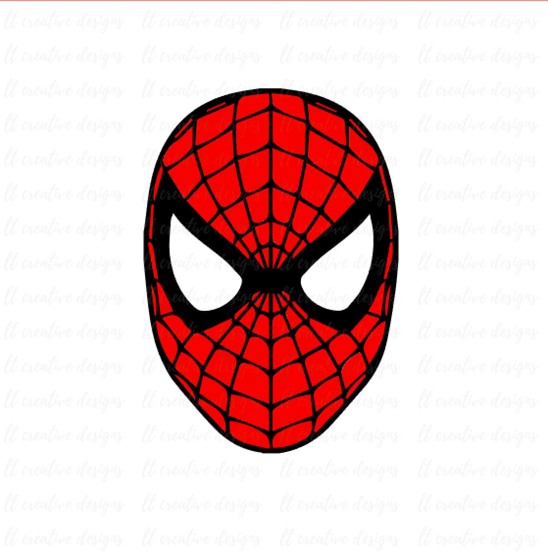 Spiderman svg spiderman face svg silhouette cut files - Image spiderman ...