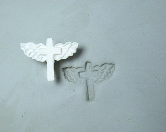 clay stamps -pottery tools -metal stamps -soap stamps -bisque stamps -ceramic stamps - -cross stamp -  (269)