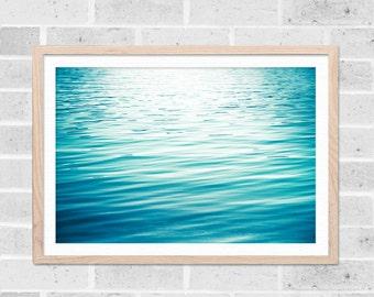 nautical wall decor abstract beach art abstract ocean art ocean decor water photography ocean water ripples beach house decor aqua teal blue