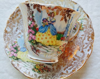 Beautiful Colclough Vintage Teacup