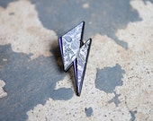 SPECIAL LISTING - David Bowie/Prince Soft Enamel Tribute Pin, Limited 100 Made