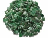 10 gm Parcel Small EMERALD Tumbled (10 - 14 Stones) Healing Crystal and Stone Set #SM2