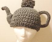 Crochet Pattern -Teapot Hat Over the Garden Wall PDF Digital File