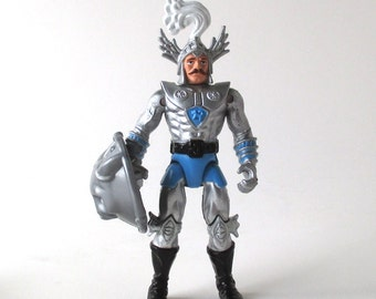 Strongheart Dungeons and Dragons Figure 1983, with Shield, Advanced Dungeons and Dragons, AD & D, TSR