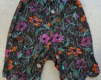 COLORFUL BLOOMERS PANTALOONS slip for pants or skirt S xs