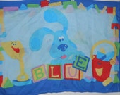 BLUES CLUES Pillow Case Standard Child by Dan River Fabric Material