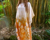 Silk Kaftan with Earthy Colors, Cover up, Summer Dress, Silkz design