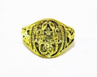 Size 8.5, 10.5 Lizard Ring, Gecko Ring, Brass Lizard Ring, Salamander Ring, Reptile Ring, Men Ring, Women Ring, Amulet Ring, Lizard Jewelry