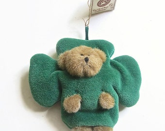 Vintage Boyds Bears Marchbeary Shamrock Best Dressed Series