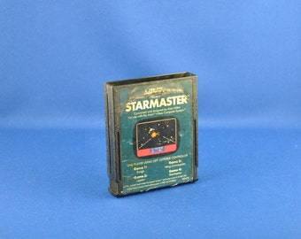 Vintage Atari 2600 Game Star Master 1982, Video Game, Console Game, Atari, Vintage Game, Vintage Atari, Vintage Console, Sci-Fi Game, Space