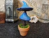Small Blue Mushroom Tree - Don't Starve Inspired