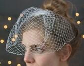 Bridal Swarovski Rhinestone Birdcage Veil