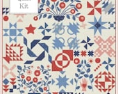 PRE-ORDER for Portage Lake Quilt Kit by Minick and Simpson for Moda - Deposit for One Quilt Kit - KIT1605