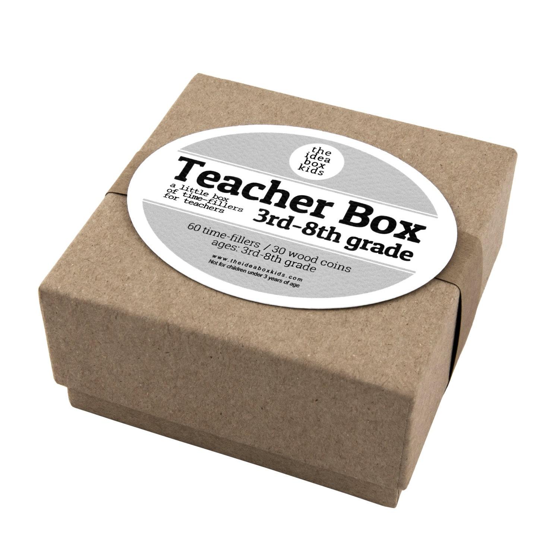 Teacher Box 3rd 8th Grade Teacher Appreciation Teacher