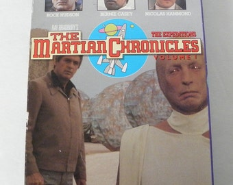 The Martian Chronicles  1st in series VHS Video Tape Pre-owned