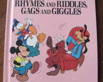 Vintage Walt Disney Joke Book
