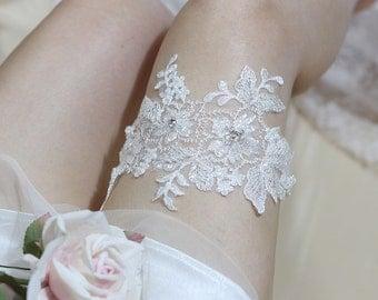 Lace garter, wedding garter, bride garter, lace garter, wedding garter belt, keepsake garter